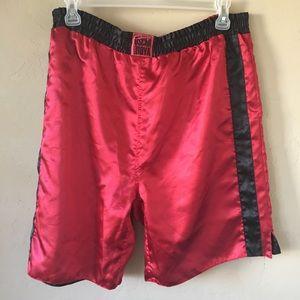 Oscar De La Hoya Boxing Shorts. Size Large